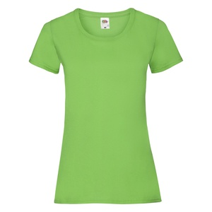 T-Shirt Ladies Valueweight T lime green