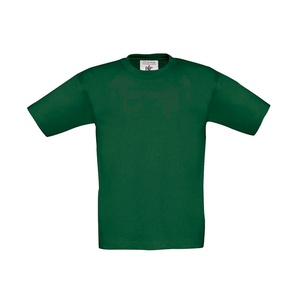 T-shirt bambino Exact 150 bottle green