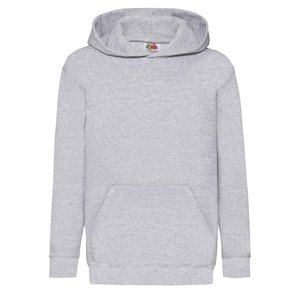 Felpa Kids Hoodie heather grey