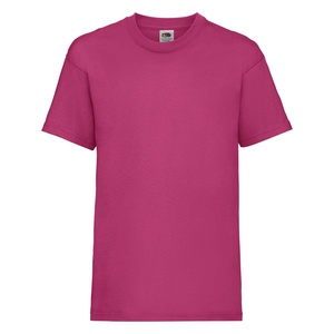 T-shirt bambino Valueweight fuchsia