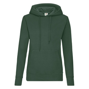 Felpa Hoodie Classic Ladies bottle green
