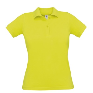 Polo Donna pixel lime