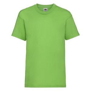 T-shirt bambino Valueweight lime green