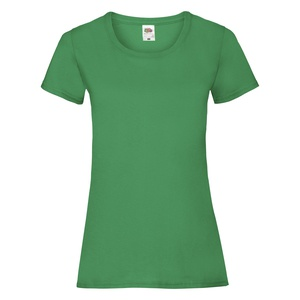 T-Shirt Ladies Valueweight T kelly green