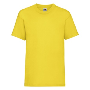 T-shirt bambino Valueweight yellow