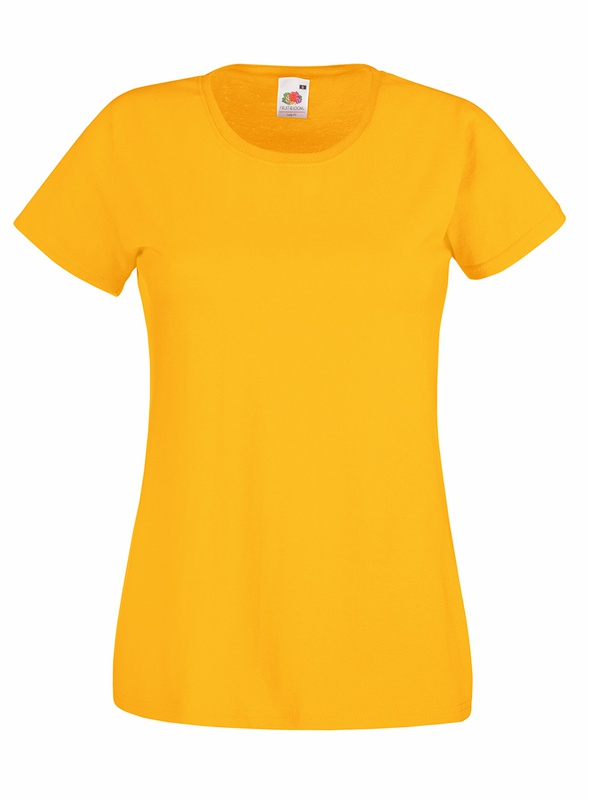 T-Shirt Ladies Valueweight T sunflower