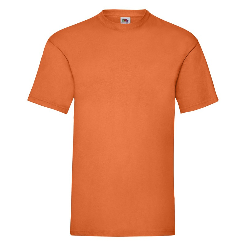 T-Shirt Valueweight orange