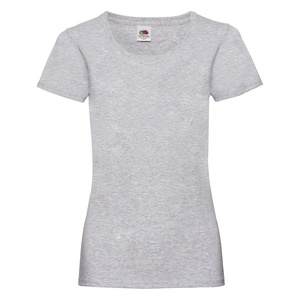 T-Shirt Ladies Valueweight T heather grey