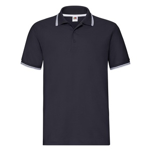 Polo uomo Tipped deep navy white