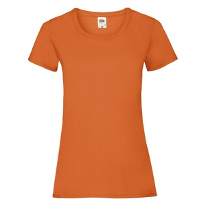T-Shirt Ladies Valueweight T orange