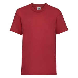 T-shirt bambino Valueweight red