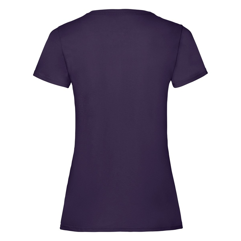 T-Shirt Ladies Valueweight T purple