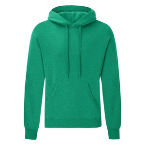 Felpa Hoodie Classic heather green