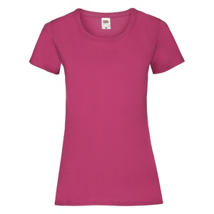 T-Shirt Ladies Valueweight T fuchsia