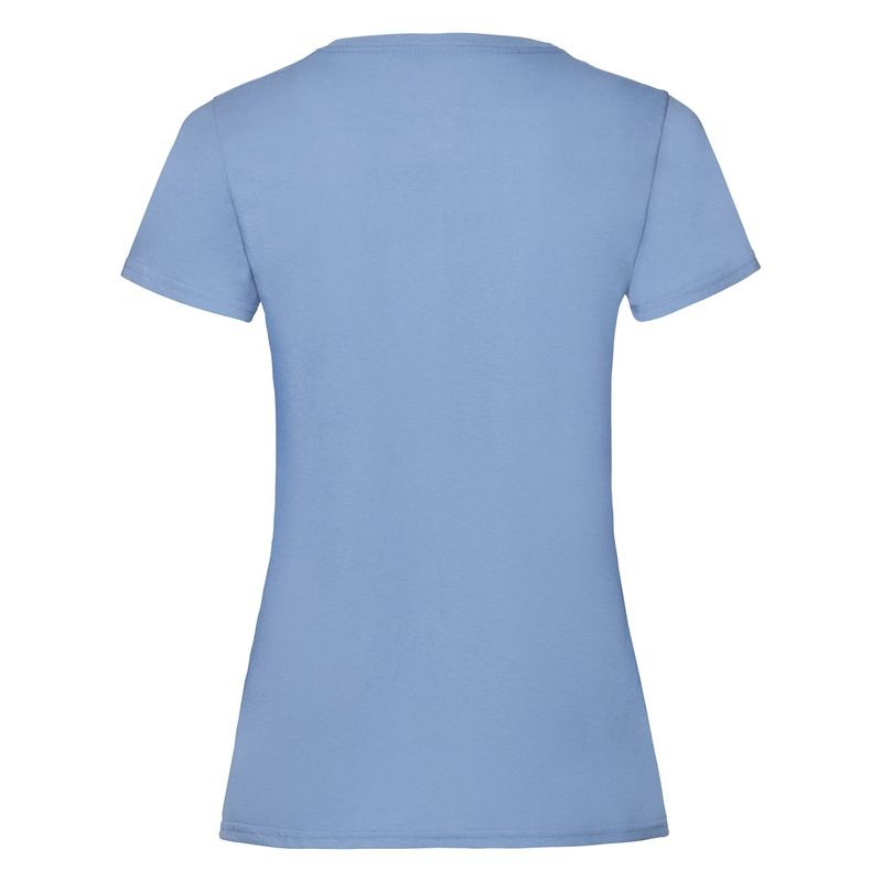 T-Shirt Ladies Valueweight T sky blue