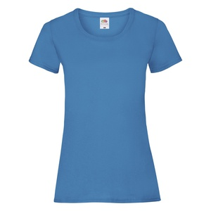 T-Shirt Ladies Valueweight T azure blue