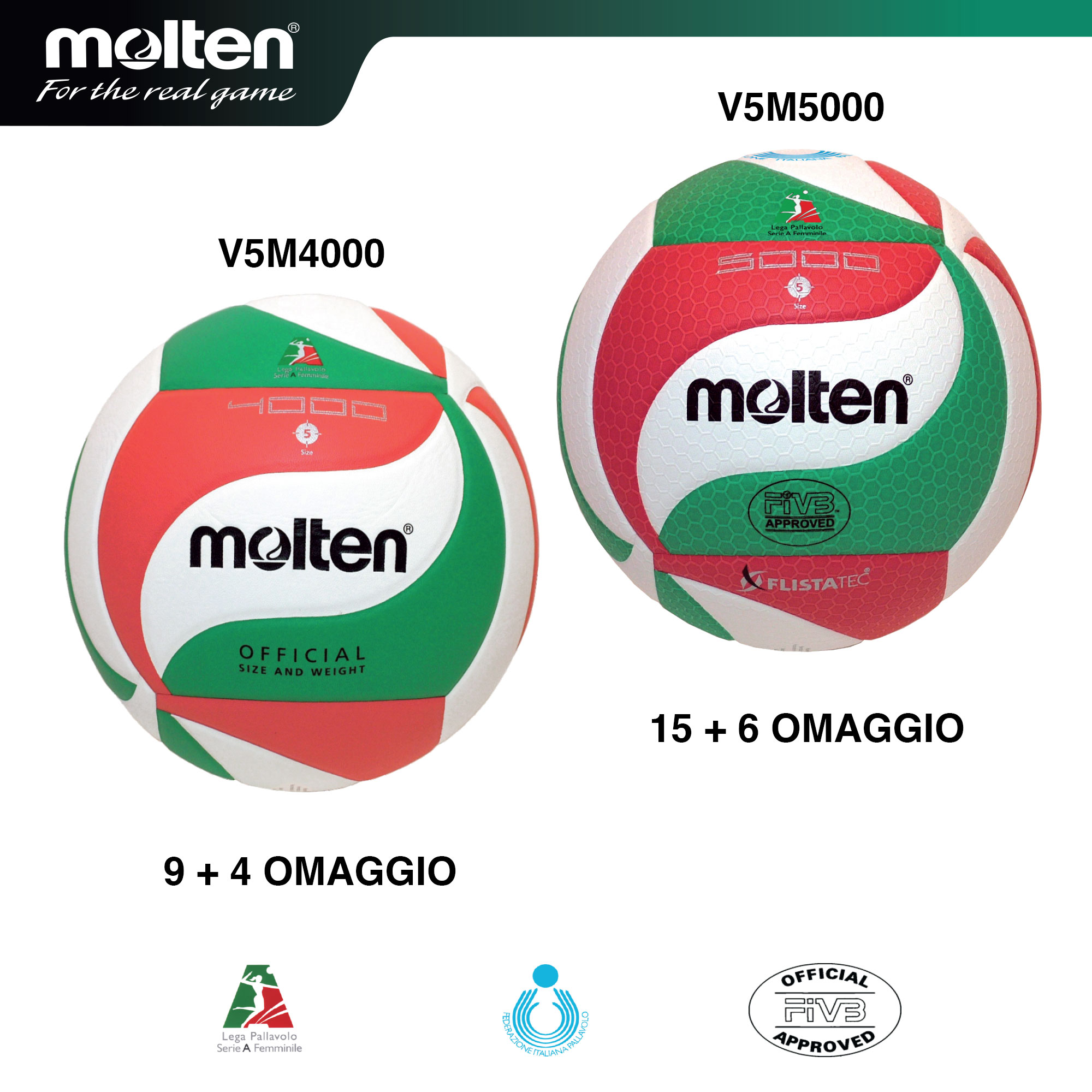 OFFERTA Molten volley UNICO ELITE
